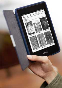 kindle paperwhite for the older generation