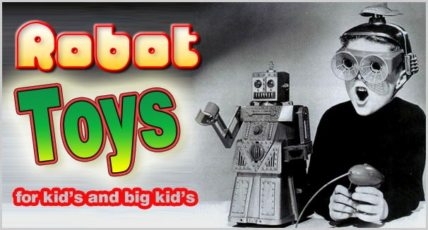 best robot toys for kids and adults 2016