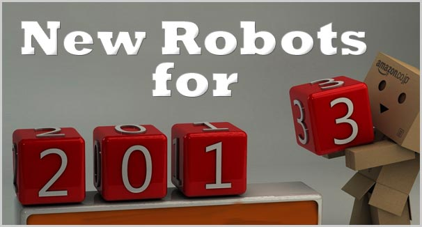 new robot gadgets and toys 2013