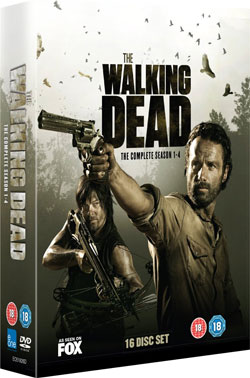 walking dead dvd box set