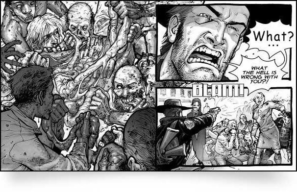 walking dead comic compendium