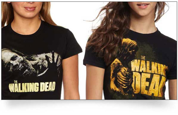 walking dead t shirts