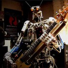Robot Band play Motorhead Classic Ace of Spades