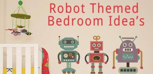 Create a Robot Themed Nursery or Kid's Bedroom