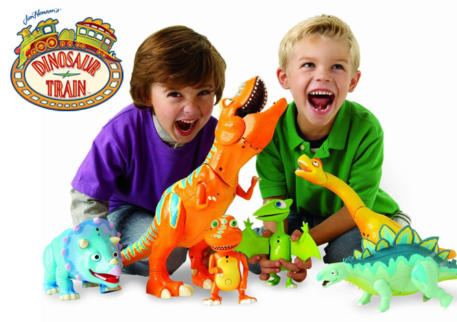 Dinosaur Train Roar and React Boris Tyrannosaurus