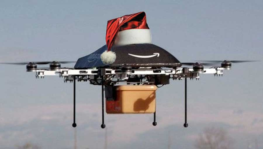 amazon delivery drone