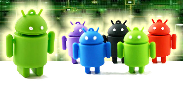 android robot usb flash drive