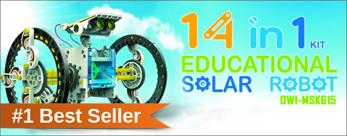 educational solar robot kit