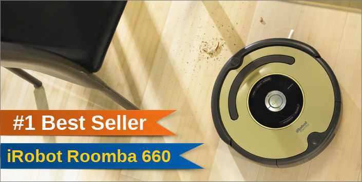 iRobot Roomba 660 best robot vacuum cleaner