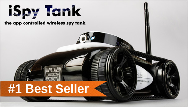 ispy remote controlled spy robots