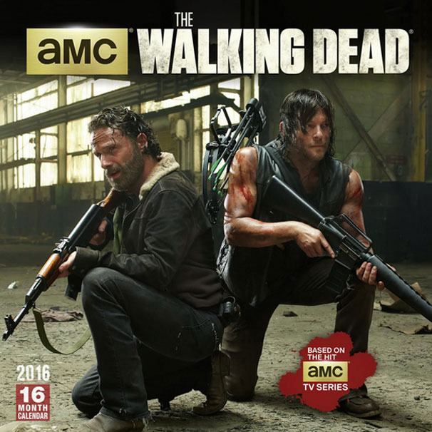 official walking dead calendar 2016