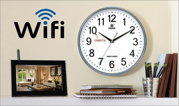 wifi enabled wall clock