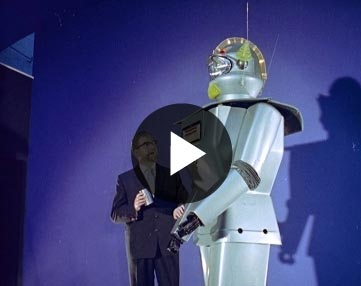 gentle giant retro robot video