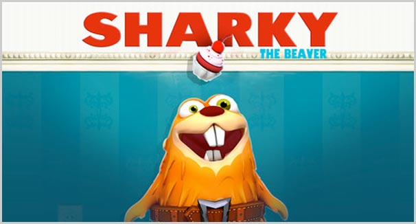 sharky the beaver