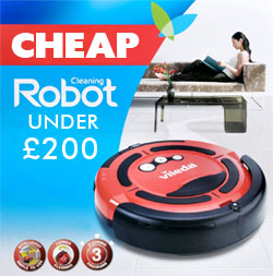 cheap robot cleaner under £200