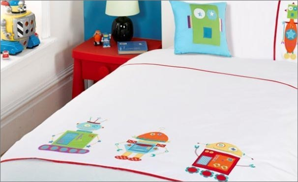 robot quilts and bedding sets