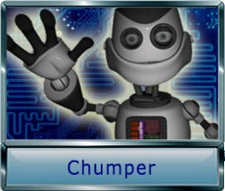 Chumper the freindly robot