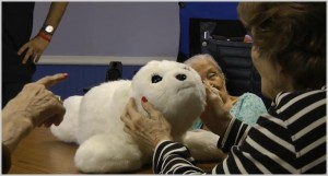 PARO the therapeutic robotic seal