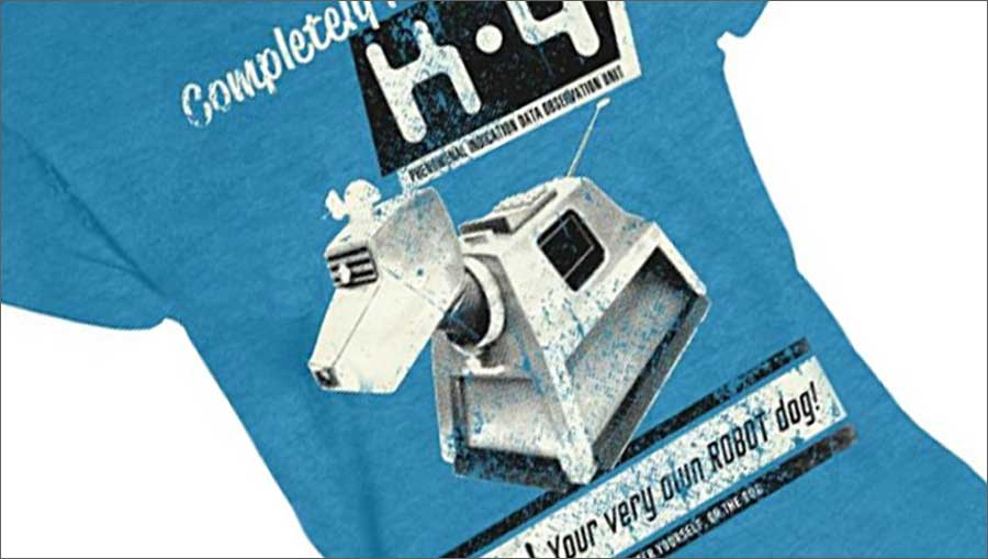 Doctor Who K9 Robot Dog T-Shirt