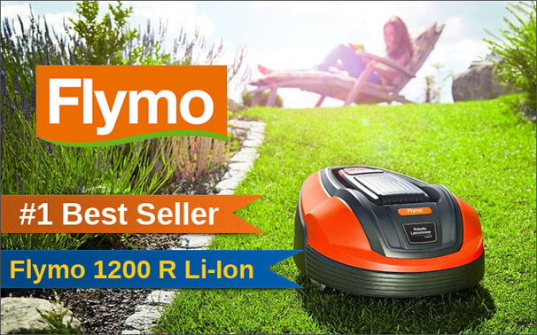 Flymo Robotic Lawnmower 1200 R Li-Ion