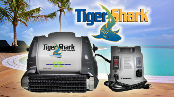 Hayward TigerShark Swimming Pool Robotic Cleaner