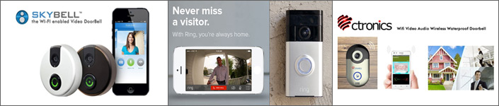 Wireless Doorbell Camera Systems