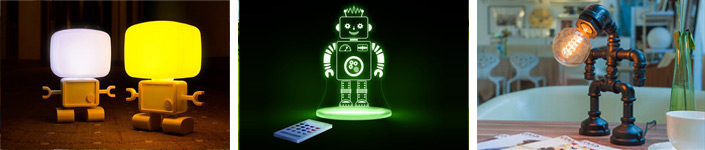 best robot lamps