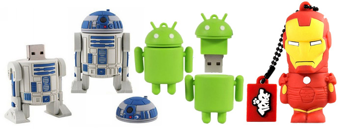 cool robotic usb flash drives