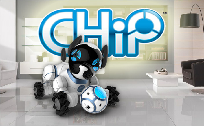 chip advanced robot dog