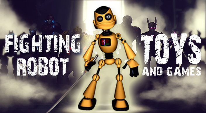 fighting robot toys and games