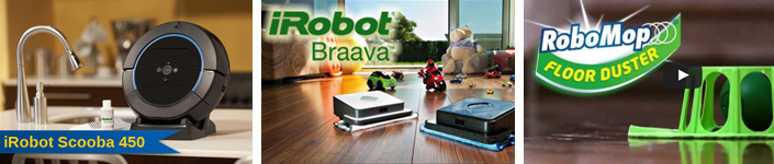 robot mops and floor cleaners