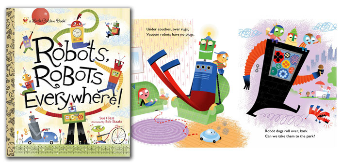 robots robots everywhere book