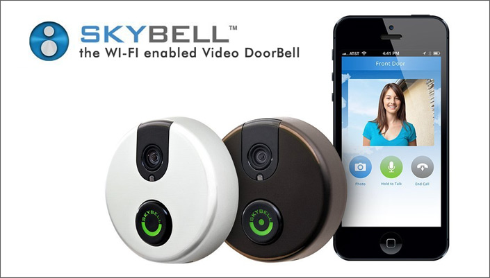 SkyBell Wi-Fi Doorbell with Motion Sensor