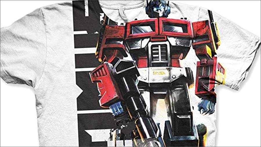 transormers optimus prime t-shirt