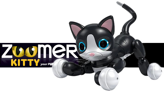 zoomer kitty robot cat
